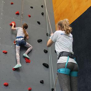 Nächster Eltern-Kind-Kletterkurs Startet Ende April