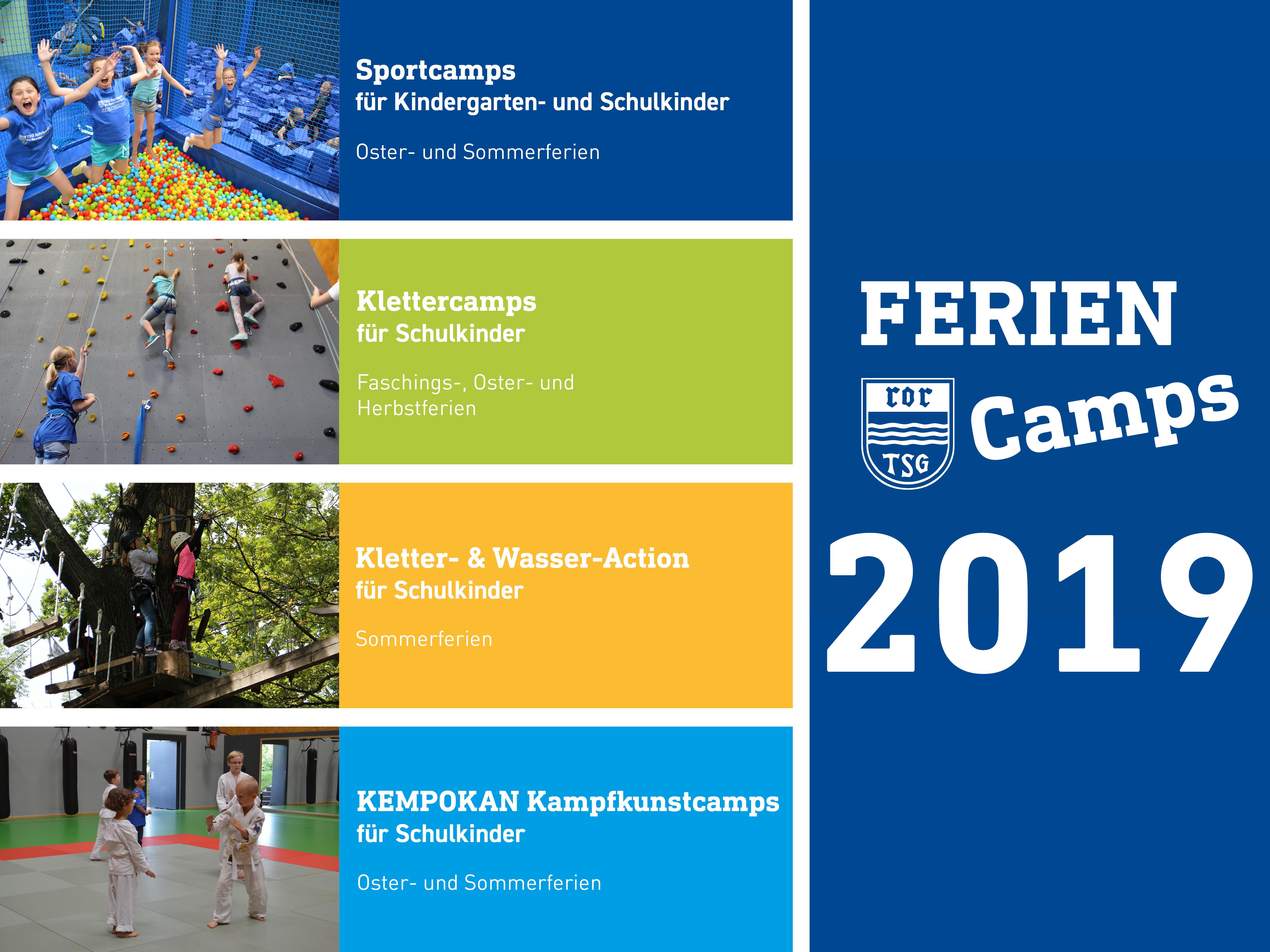 Feriencamps 2019 – Die Termine Stehen Fest