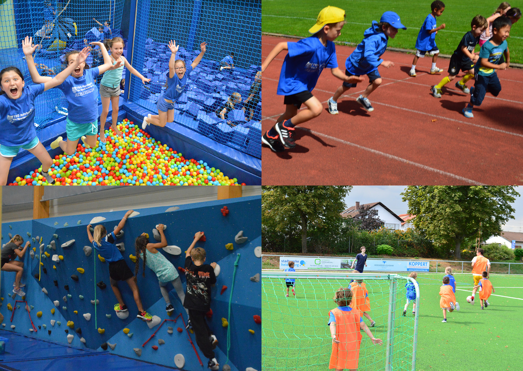 Sommercamps & Schulanfängerwochen 2019