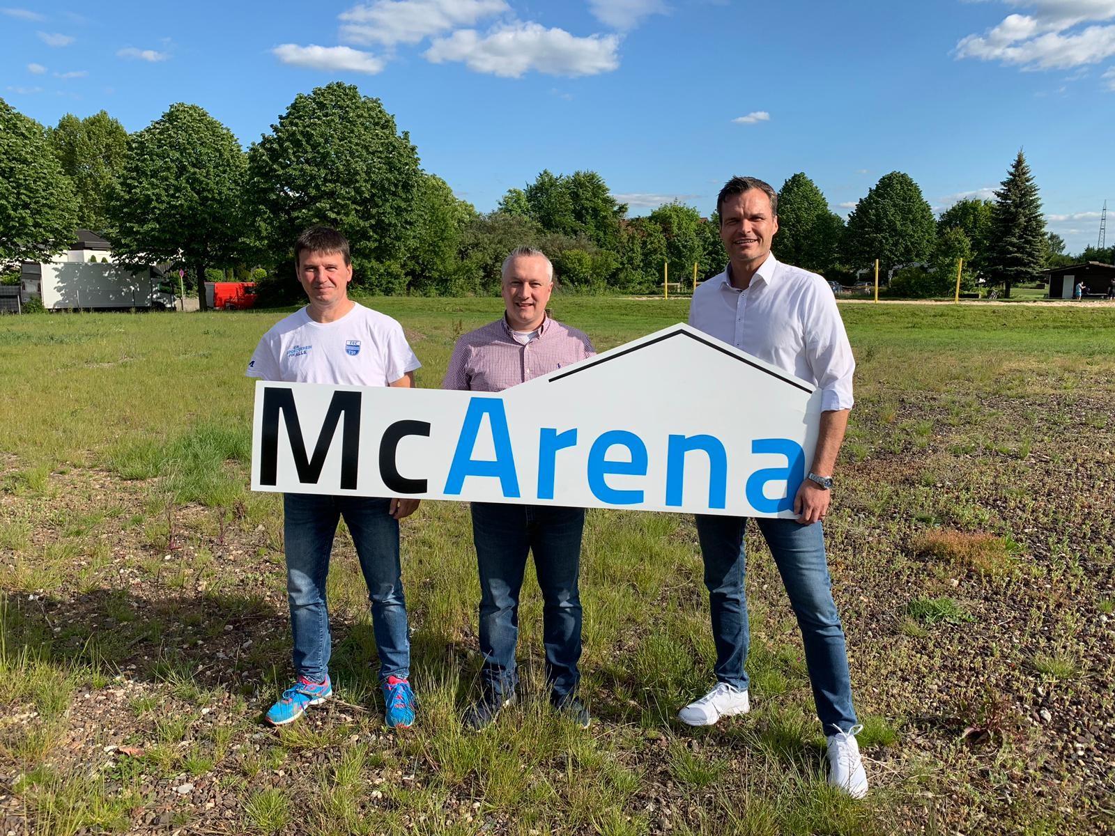 Baubeginn Für Die McArena Freilufthalle