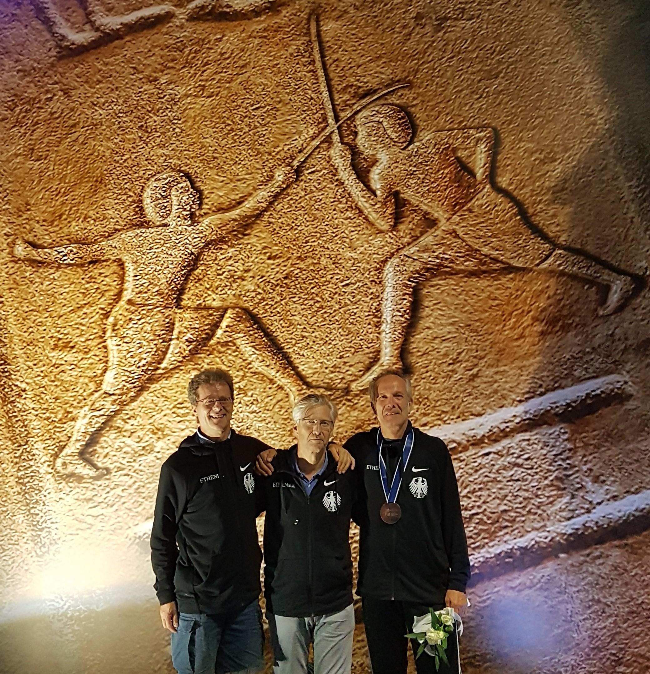 Bronze, Silber Und Gold Für Heidelberger Fechter