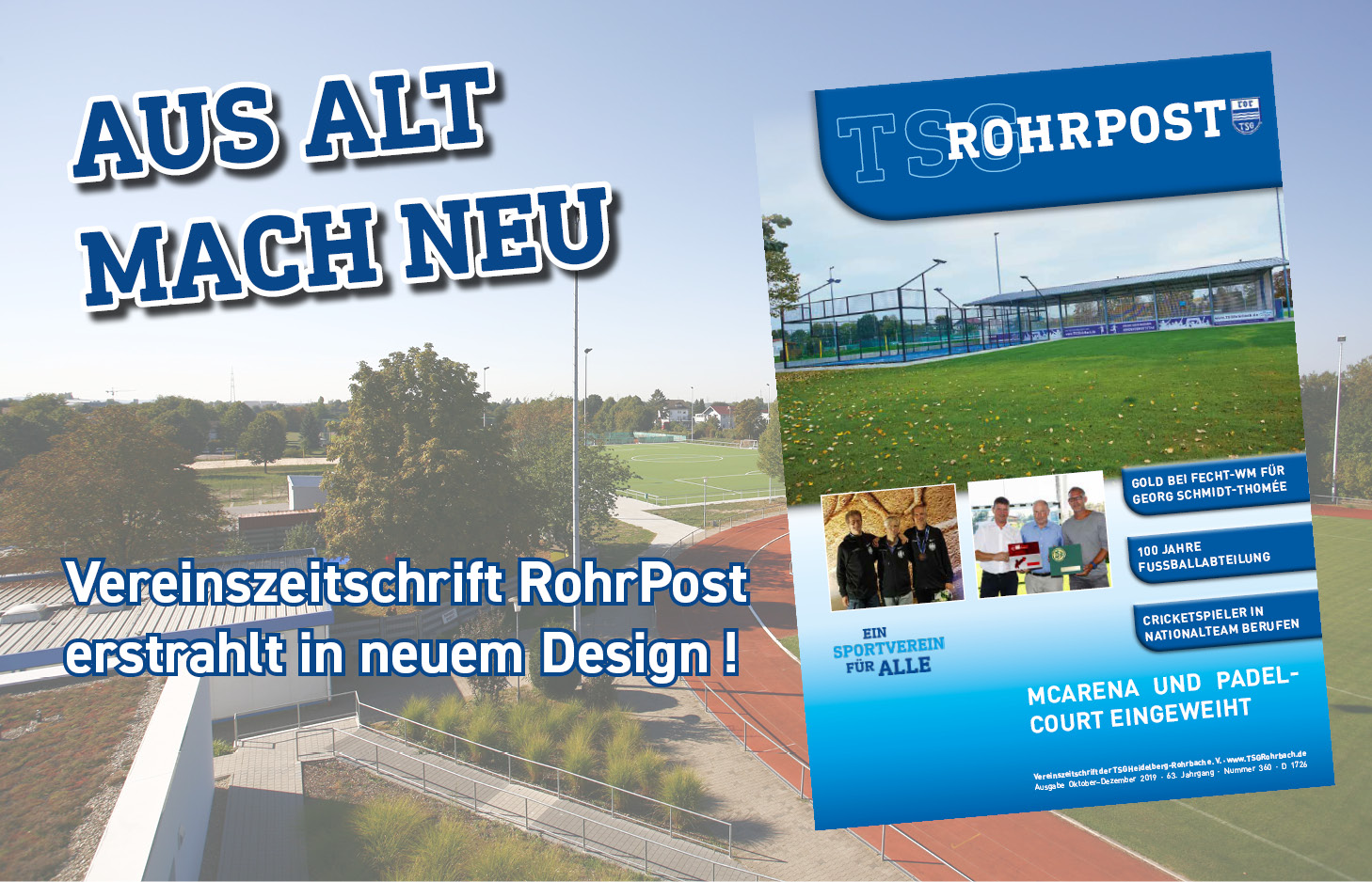 Neue RohrPost – Neues Design!