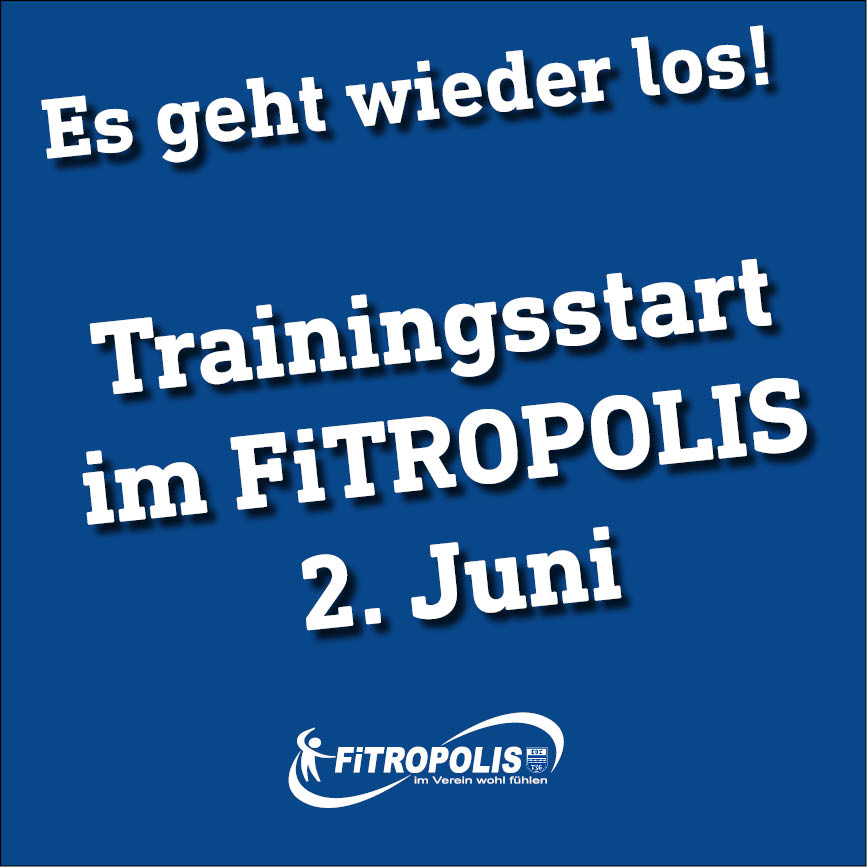 Trainingsstart Im FiTROPOLIS