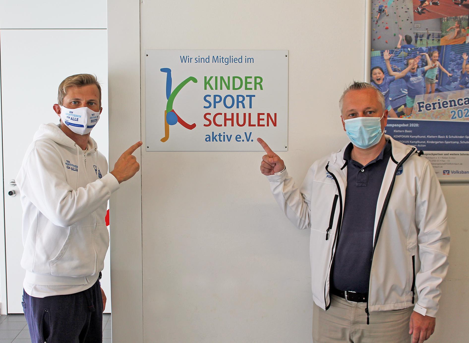 "TSG Rohrbach Mitglied Im Verein ""KINDERSPORTSCHULENaktiv E. V."""