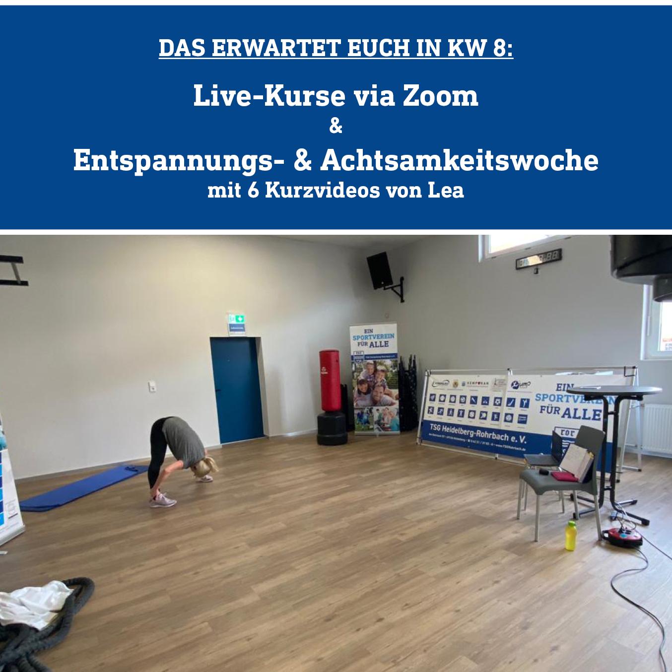 Online-Kurse Und Entspannungsvideos In KW8